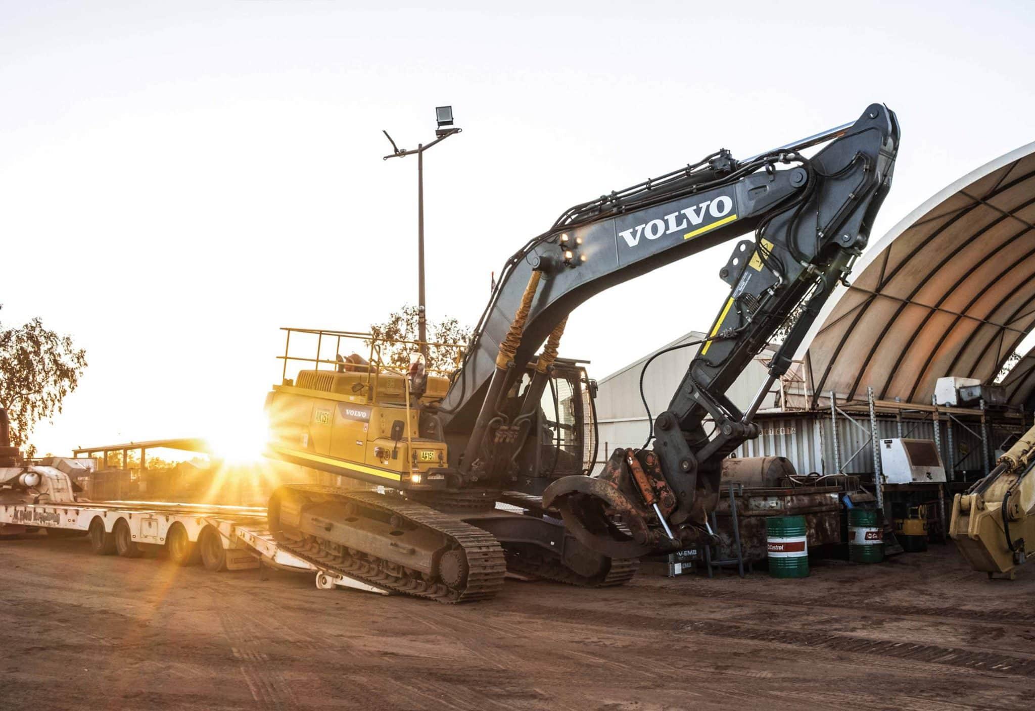 10 4S Work AK Evans Excavator