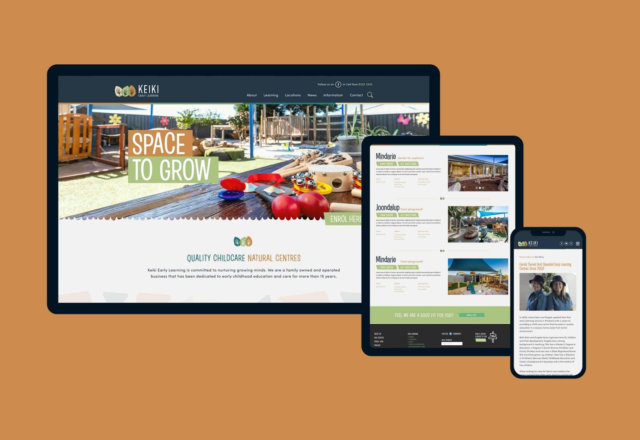 8 4S Work Keiki Website