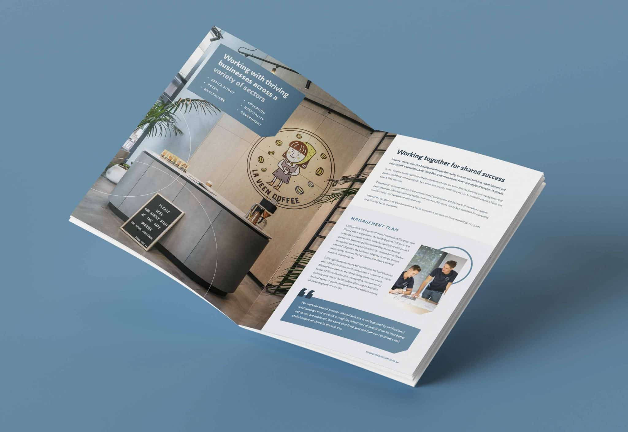 8 4S Work Neon Capability Brochure